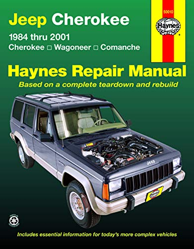 9781563925405: HM Jeep Cherokee 1984-2001 US (Haynes Repair Manual)