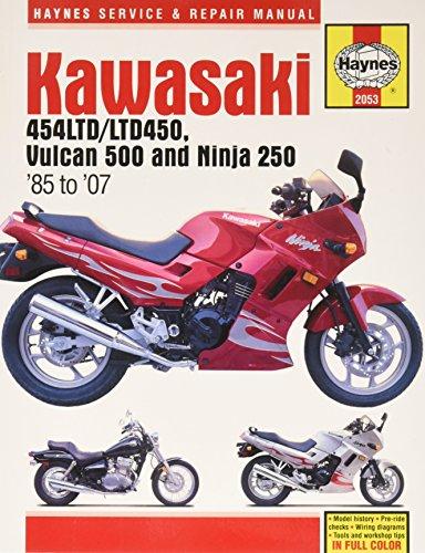 Kawasaki EN 450 & 500 Twins 1985-2004 (Haynes Manuals): John Haynes