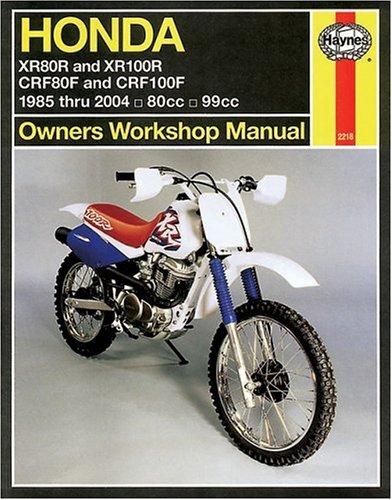 9781563925511: Honda XR80R and XR100R 1985-2004 (Haynes Manuals)