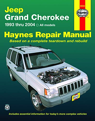 9781563925542: Jeep Grand Cherokee 1993 - 2004 Haynes Repair Manual