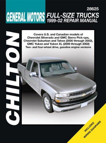 9781563925573: GM Full-Size Trucks: 1999 through 2002 (Chilton's Total Car Care Repair Manuals)