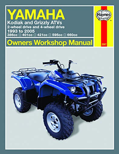 9781563925672: Yamaha Kodiak & Grizzley ATVs, 1993-2005 (Owners' Workshop Manual)