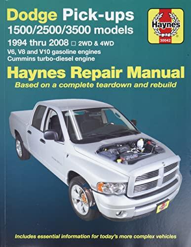 Dodge Pick-ups 2002-2005 Full Size Models (Haynes: Haynes