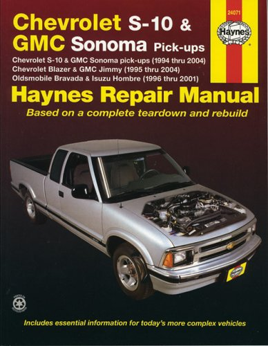 9781563925757: Chevrolet S-10 & Gmc Somona Pick-Ups (94 - 04) (Haynes Manuals)