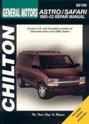 9781563925832: GM Astro/Safari: 1985 through 2003 (Chilton's Total Car Care Repair Manuals)