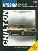 9781563926044: Chilton's Nissan Maxima 1993-04 Repair Manual