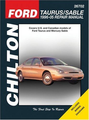 9781563926068: Ford Taurus/Sable, 1996-05 Repair Manual (Chilton Total Car Care Series Manuals)