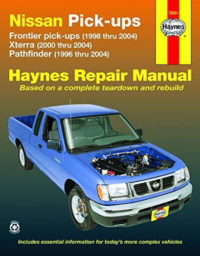 9781563926105: Nissan Pick-Ups: Frontier Pick-Ups (1998 Thru 2004), Xterra (2000 Thru 2004), Pathfinder (1996 Thru 2004) (Hayne's Automotive Repair Manual)