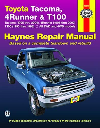 Haynes Toyota Tacoma 4 Runner & T100 Automotive Repair Manual 6979002