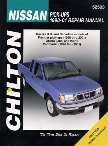 9781563926525: Nissan Pick-up, Xterra & Pathfinder 1998-2004 (Chilton's Total Car Care Repair Manual)