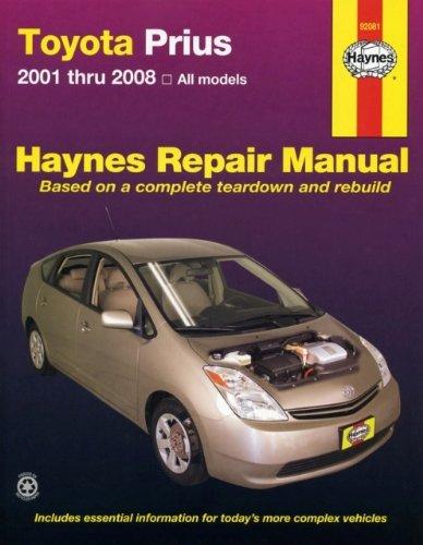 9781563926808: Toyota Prius, '01-'08 (Hayne's Automotive Repair Manual)