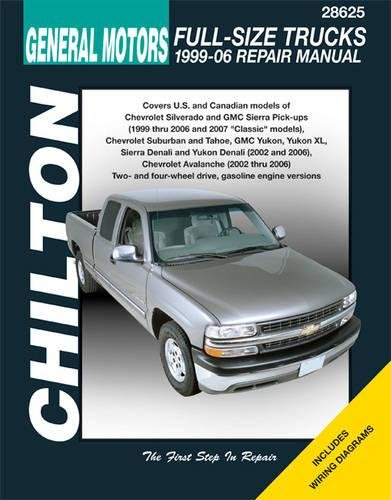 9781563926860: GM Full-Size Trucks, 1999-06 Repair Manual (Chilton's Total Car Care Repair Manual)