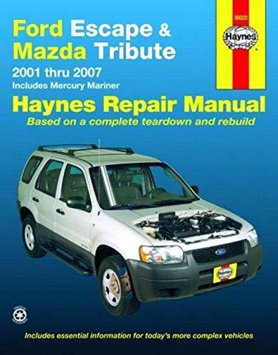 9781563926990: Ford Escape and Mazda Tribute: 2001 - 2007 (Automotive Repair Manual)