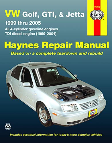 VW Golf, GTI, & Jetta, '99 Thru: John H. Haynes,Jay