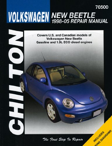9781563927119: Volkswagen New Beetle, 1998-2005 (Chilton's Total Car Care)