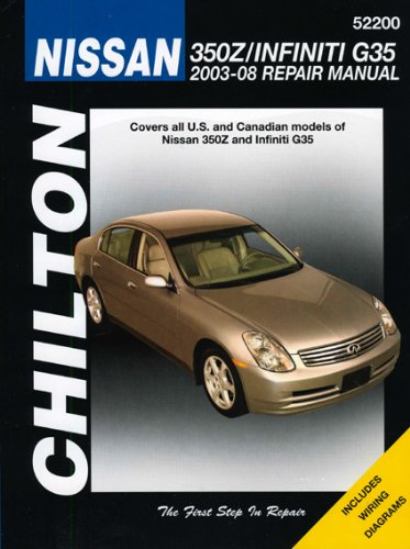 9781563927317: Nissan 350 Z (Chilton's Repair Manual)