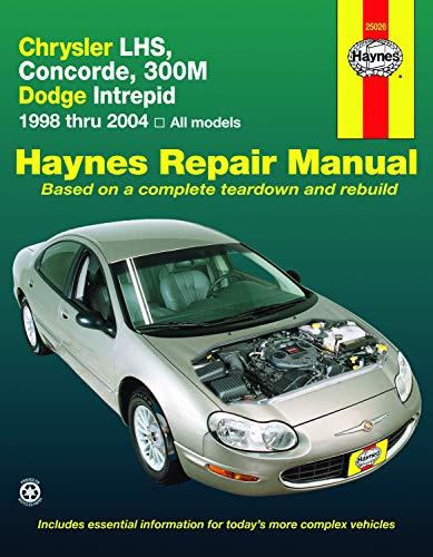 Chrysler Lhs, Concorde,300m, Dodge Intrepid, 1998-2004 (Paperback): Eric Godfrey