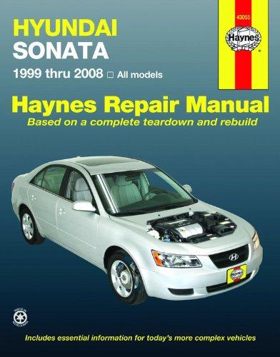 9781563927362: Hyundai Sonata Automotive Repair Manual (1999 through 2008)