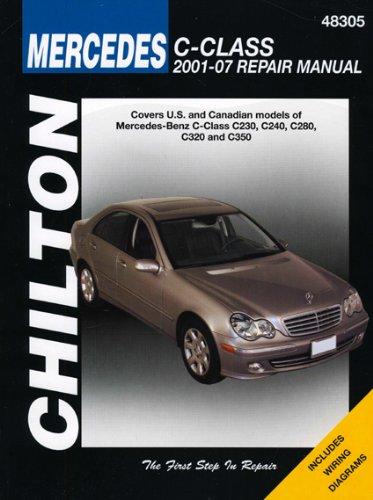 9781563927379: Mercedes Benz C Class (Chilton's Total Car Care Repair Manuals)