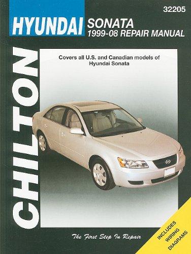 Hyundai Sonata: 1999 thru 2008 (Chilton's Total Car Care Repair Manuals): Imhoff, Tim