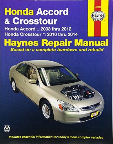 9781563927409: Honda Accord 2003-2007 Repair Manual (Haynes Repair Manual)