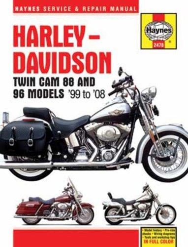 9781563927553: Harley-Davidson Twin Cam 88 and 96 Models 99-08 (Haynes Service & Repair Manual)