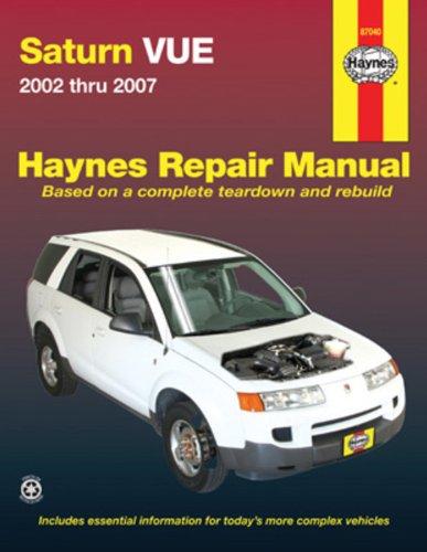 Saturn Vue, 02-07 (Haynes Repair Manual)