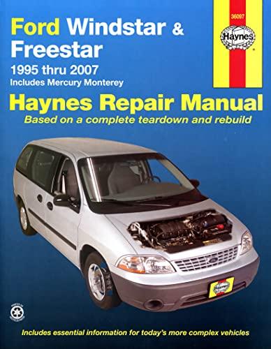 9781563927652: Ford Windstar & Freestar 1995-2007 Repair Manual (Haynes Repair Manual)