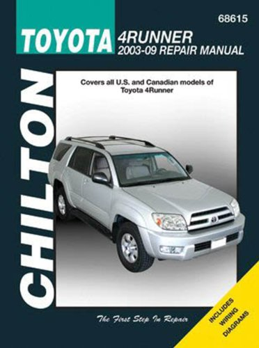 Toyota 4Runner: 2003-2009 (Chilton's Total Car Care: Tim Imhoff