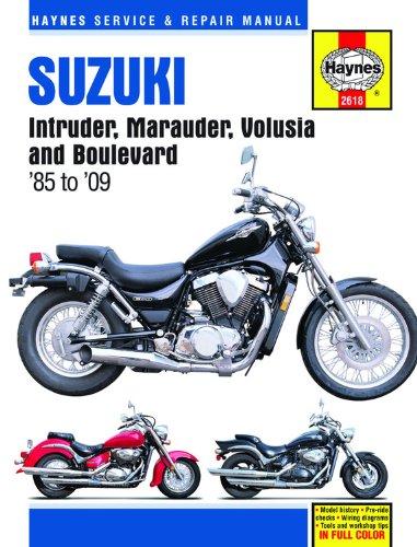 9781563927799: Suzuki Intruder/Marauder/Volusia/Boulevard, 1985-2009 (Haynes Service & Repair Manuals (Hardcover))