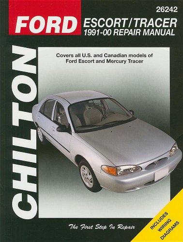 9781563927836: Ford Escort & Tracer: 1991 thru 2000 (Chilton's Total Car Care)