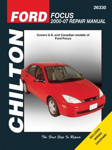 9781563927850: Ford Focus 2000 - 2007 (Chilton's Total Car Care Repair Manual)