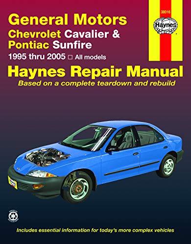 9781563928147: Chevrolet Cavalier & Pontiac Sunfire, 1995-2005 (Haynes Repair Manual)