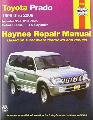Toyota Prado Service and Repair Manual: 1996: Jeff Killingsworth