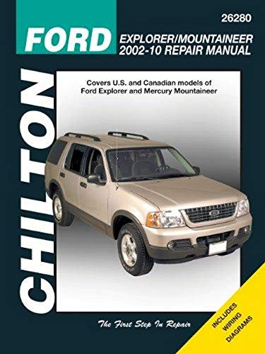 9781563928369: Ford Explorer & Mercury Mountaineer, 2002-2010 (Chilton's Total Car Care Repair Manual)