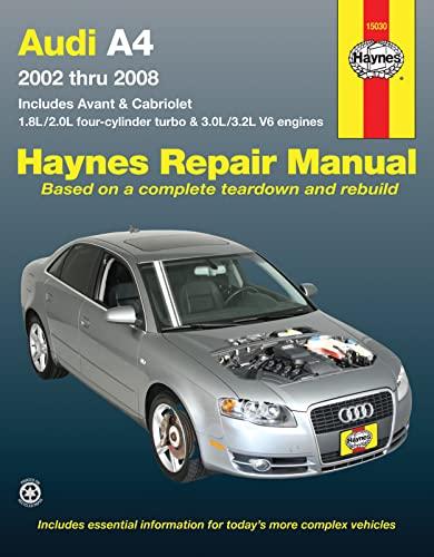 9781563928376: Audi A4: 2002 Thru 2008 (Hayne's Automotive Repair Manual)