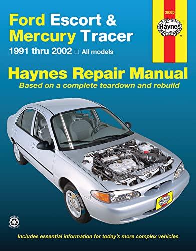 9781563928406: Ford Escort & Mercury Tracer, 1991-2002 (Haynes Repair Manual)