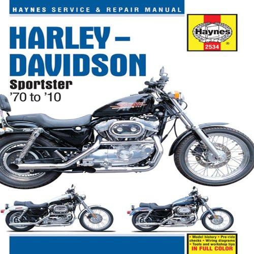 9781563928475: Harley-Davidson Sportster: '70 to '10 (Haynes Service & Repair Manual)