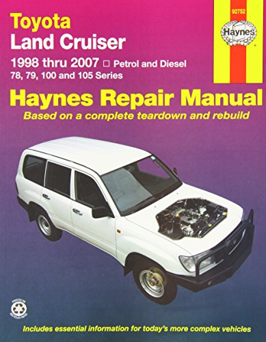 9781563928826: Toyota Landcruiser Repair Manual: 2005-2007.