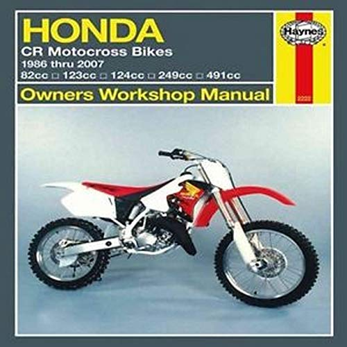 9781563928925: Honda CR Motocross Bikes, '86-'07 (Owners' Workshop Manual)