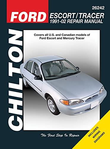 Ford Escort & Mercury Tracer 1991-2002 (Chilton's Total Car Care Repair Manual): Chilton