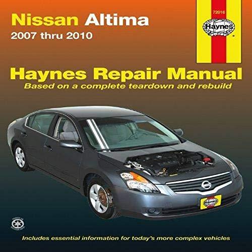 9781563928963: Nissan Altima: 2007 thru 2010 (Haynes Repair Manual)
