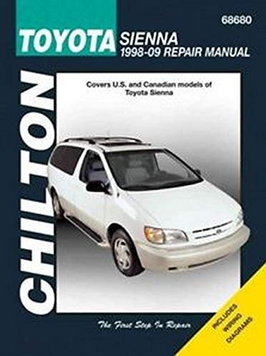 Toyota Sienna Van Automotive Repair Manual: Jay Storer