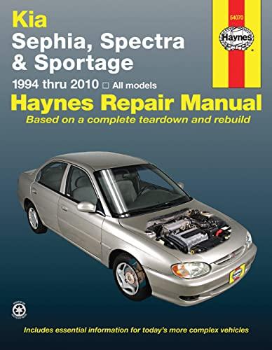 9781563929083: Haynes Kia Sephia, Spectra & Sportage 1994 Thru 2010 Automotive Repair Manual