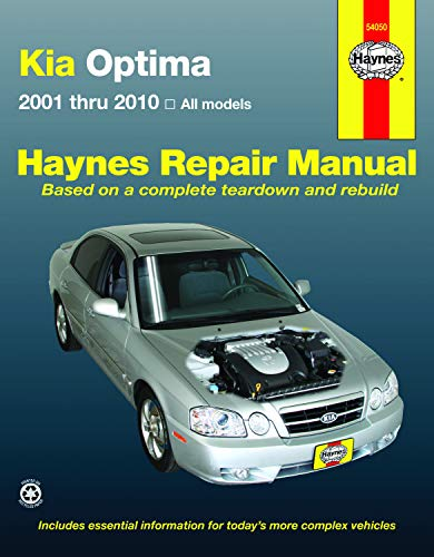 9781563929243: KIA Optima 2001-2010 Repair Manual (Haynes Repair Manual)