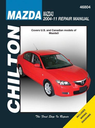 9781563929267: Chilton Mazda3 2004-11 Repair Manual