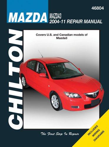 Chilton Mazda3 2004-11 Repair Manual: Jeff Killingsworth
