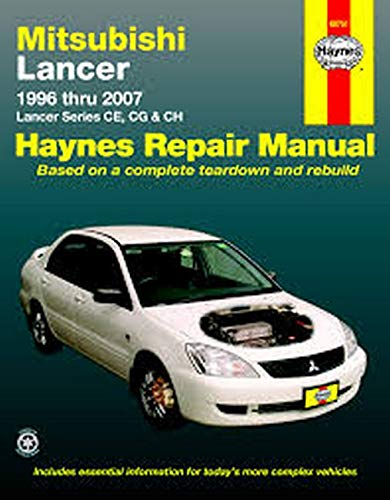 Mitsubishi Lancer Automotive Repair Manual (Paperback)
