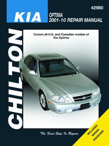9781563929465: Chilton's Kia Optima 2001-10 Repair Manual (Chilton's Total Car Care Repair Manuals)