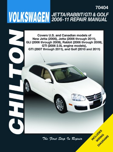 Volkswagen Jetta/Rabbit/GTI & Golf 2006-11: Does not include 2005 Jetta (based on the...